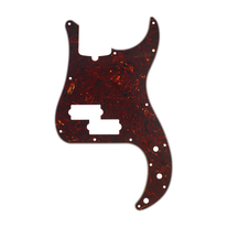 Fender Precision Bass Pickguard 13-Hole Mount 4-Ply - Tortoise Shell