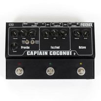 Used Foxrox Captain Coconut 2 Fuzz Effects Pedal