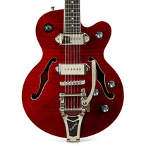 Used Epiphone Wildkat Wine Red 2015