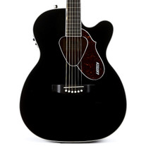 Used Gretsch G5013CE Rancher Jr Cutaway Black 2015
