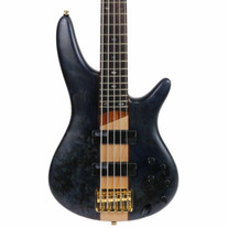 Used Ibanez SR805DTF 5 String Bass - Deep Twilight Flat