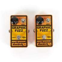 Vintage Earth Sound Research Graphic Fuzz Pedal - As Is Pair