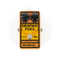 Vintage Earth Sound Research Graphic Fuzz Pedal