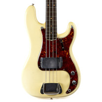 Vintage Fender Precision Bass Olympic White 1961