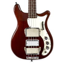 Vintage Epiphone Embassy Deluxe Bass Cherry 1967