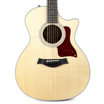 Taylor 414ce Ovangkol Grand Auditorium Acoustic Electric with V-Class Bracing - Natural