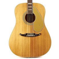 Vintage Fender Wildwood III Dreadnought Natural 1968
