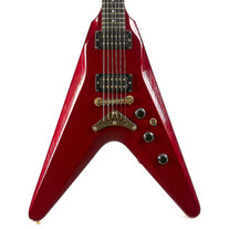 Vintage Gibson V2 Flying V Metallic Red 1982