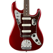 Fender Parallel Universe Jag Stratocaster Rosewood - Candy Apple Red