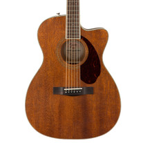 Fender Paramount PM-3 Triple-0 All-Mahogany Acoustic with Case