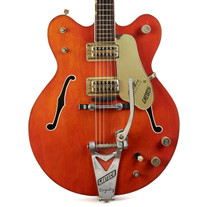 Vintage Gretsch 6120 Chet Atkins Nashville Orange 1967
