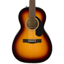 Fender CP-60S Parlor Acoustic Walnut - Sunburst