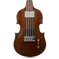 Vintage Gibson EB-1 Electric Violin Bass Brown 1969
