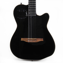 Godin ACS-SA Nylon Black Pearl Acoustic Electric Synth Guitar B-Stock