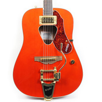 Gretsch G5034TFT Rancher Arched Top Acoustic Electric with Bigsby Savannah Sunset