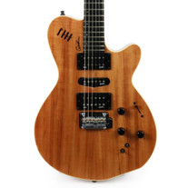 Godin xtSA Leaftop Figured Koa Electric Guitar B Stock