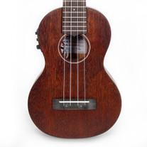 Gretsch G9110-L Concert Long-Neck Acoustic Electric Ukulele with Gig Bag
