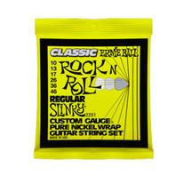 Ernie Ball 2251 Pure Nickel Regular Slinky Electric Guitar Strings .010 - .046