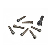 Planet Waves Injection Molded Bridge Pin / End Pin Set in Black