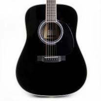 Martin D-35 Johnny Cash Signature Dreadnought Acoustic in Black