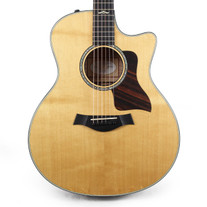 Taylor 616ce Spruce & Maple Grand Symphony Acoustic Electric Guitar in Natural