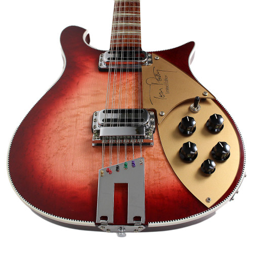 used 1994 rickenbacker 660 12 tom petty limited edition 12 string electric guitar fireglo. Black Bedroom Furniture Sets. Home Design Ideas