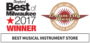 Cream City Music Named One of the World's Best Guitar Dealers