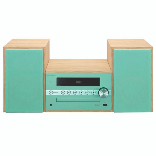 Pioneer Micro Sound System DAB+ Green/Jade - CM56DB