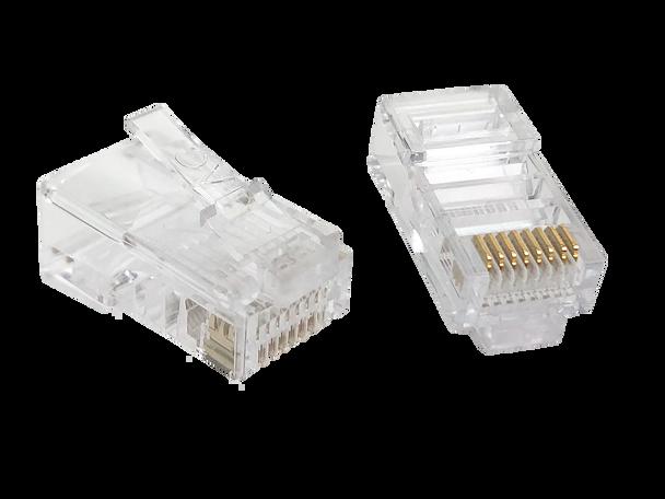 8P8C Rnd/Sol (100-Pack) - P2059