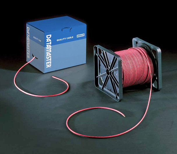 Cat6 Solid Cable; UTP Cable 305m Reel In Box: Red