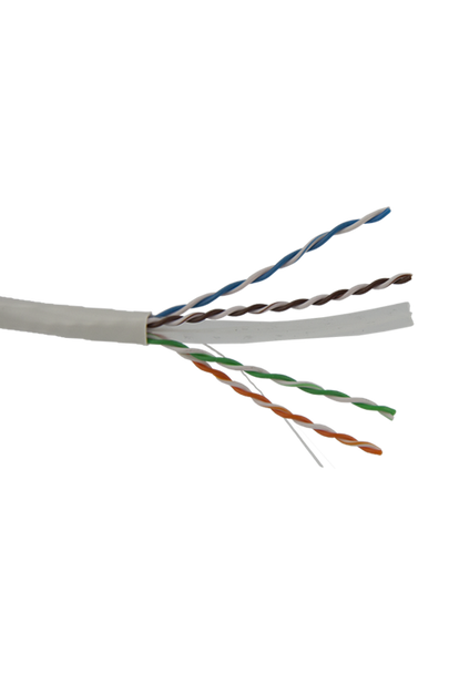 Cat6 Solid White 305m - Y8500WHI