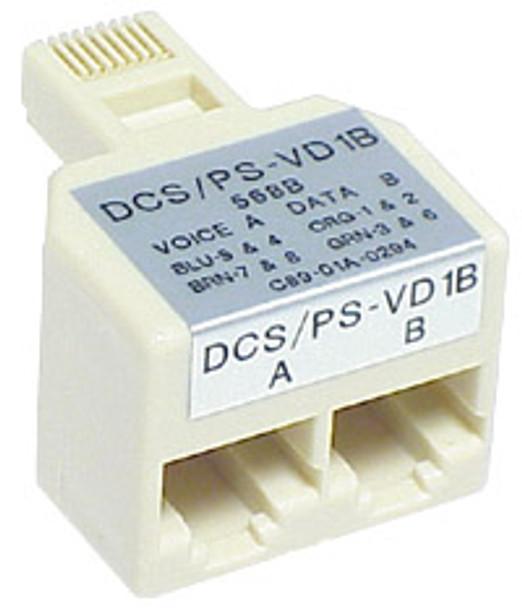 RJ45 DD Splitter - P2322
