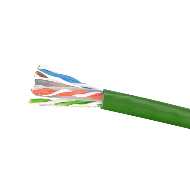 Cat6 Stranded Cable; UTP Cable 305m Pull Box: Green