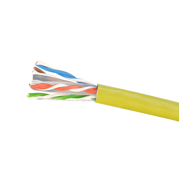 Cat6 Stranded Cable; UTP Cable 305m Pull Box: Yellow