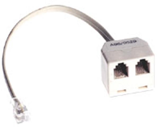 4P4C D/A W/Cord Ivo - P2345