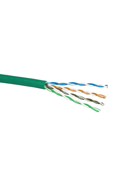 Cat5e Stranded Cable; UTP Cable 305m Pull Box: Green