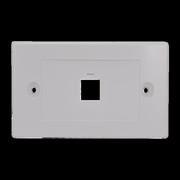 1Port Flush Plate - P4301
