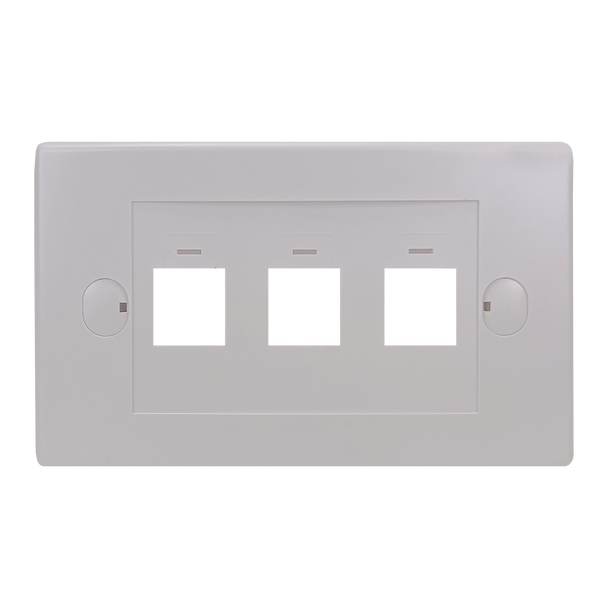 3Port Flush Plate - P4303