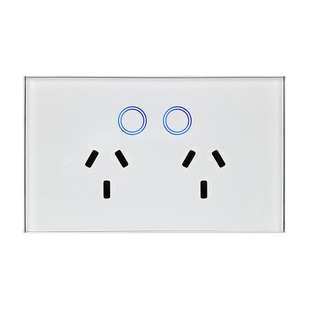 2-Gang Power Outlet