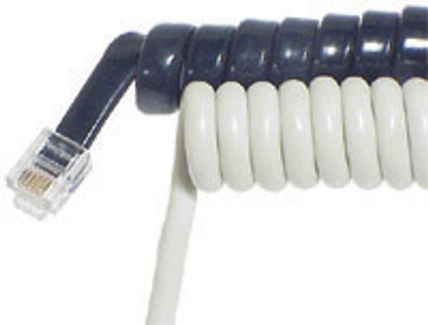 H/Set Cord 8m White - W3200
