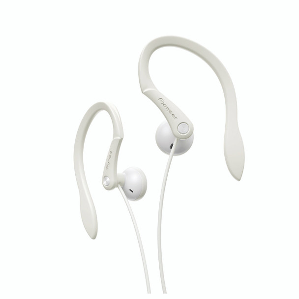 Pioneer Open-air Dynamic Sport Earphones White - SEE511W