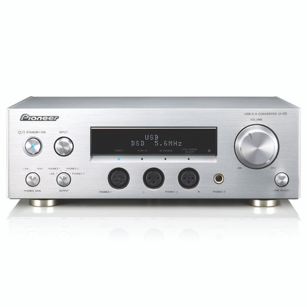 Pioneer USB DAC Player Silver - U05S