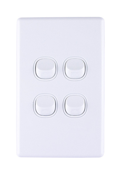 4 gange light switch