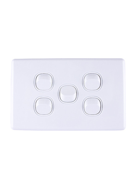 5 gang light switch