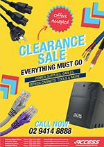 Clearance Catalogue