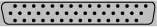 d-sub DB-44 (DB44-HD, HD-44) 44 pin subminiature connector