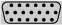 d-sub DE-19 (DB-19DD, DD-19) 19 pin subminiature connector