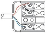 Australian 610 telephone socket wiring configuration diagram / specification