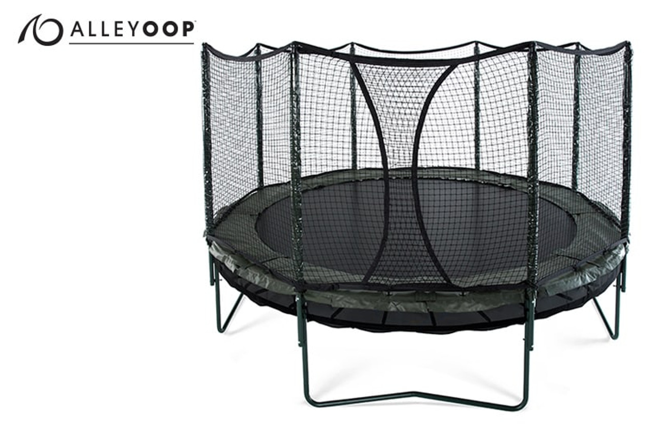 Attrayant DoubleBounce 14u0027 Trampoline With Enclosure