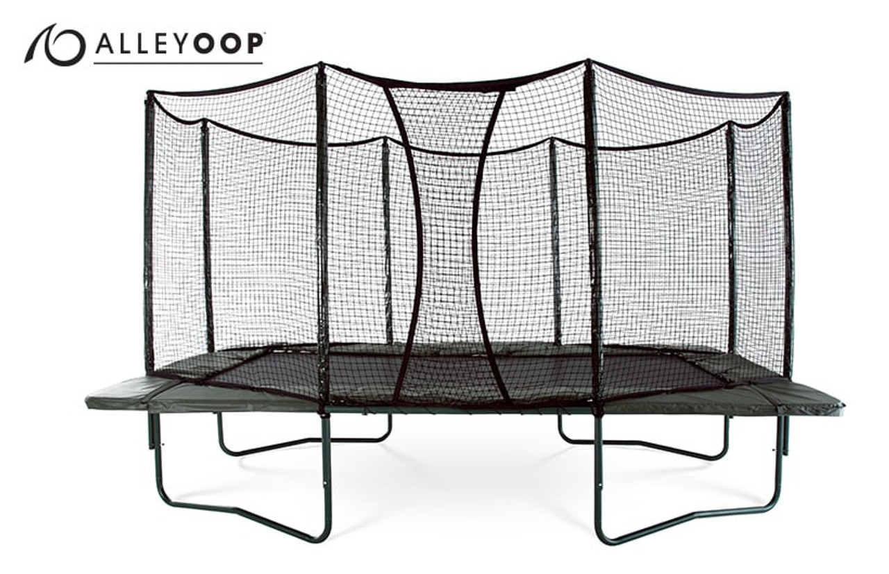 Variablebounce 10 17 Ft Rectangular Trampoline With Enclosure